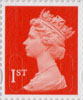 Definitives - Revised Colours 1st Stamp (2013) 1st Royal Mail Red