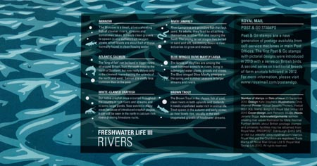 Post & Go: River Life - Freshwater Life 3 (2013)