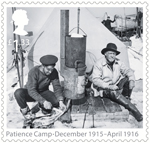 Shackleton and the Endurance Expedition £1.33 Stamp (2016) Patience Camp - December 1915 - April 1916
