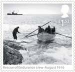 Shackleton and the Endurance Expedition £1.52 Stamp (2016) Rescue of Endurance crew - August 1916