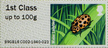Post & Go : Ladybirds 1st Stamp (2016) Water Ladybird