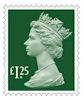 New Definitives £1.25 Stamp (2018) Holly Green