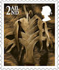New Country Definitives 2nd Stamp (2018) Wales 2nd
