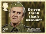 Dads Army 2nd Stamp (2018) Sergeant Wilson – Do you think that's wise, sir?