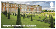 Hampton Court Palace 1st Stamp (2018) Hampton Court Palace – South Front