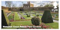 Hampton Court Palace £1.55 Stamp (2018) Hampton Court Palace – Pond Gardens