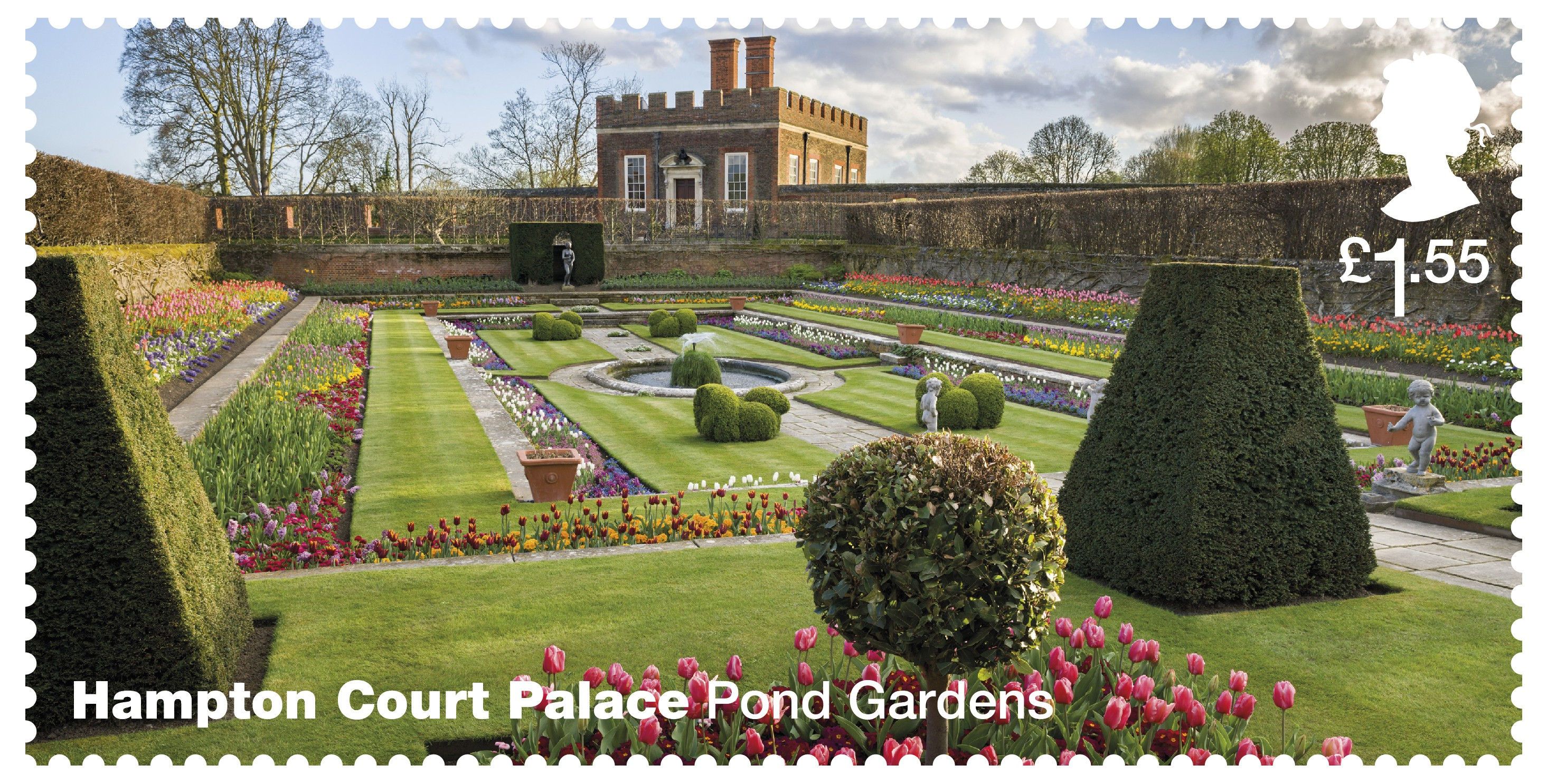 Roses In Garden: Hampton Court Palace (2018) : Collect GB Stamps