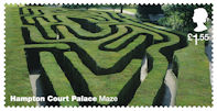 Hampton Court Palace £1.55 Stamp (2018) Hampton Court Palace – Maze