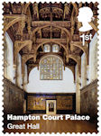 Hampton Court Palace 1st Stamp (2018) Hampton Court Palace – Great Hall