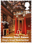 Hampton Court Palace 1st Stamp (2018) Hampton Court Palace – King's Great Bedchamber