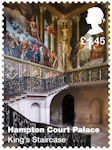 Hampton Court Palace £1.45 Stamp (2018) Hampton Court Palace – King's Staircase