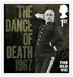 The Old Vic 1st Stamp (2018) The Dance of Death, 1967