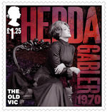 The Old Vic £1.25 Stamp (2018) Hedda Gabler, 1970