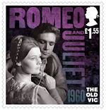 The Old Vic £1.55 Stamp (2018) Romeo and Juliet, 1960