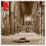 The First World War - 1918 £1.55 Stamp (2018) The Grave of the Unknown Warrior, Westminster Abbey, London