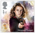 Harry Potter 1st Stamp (2018) Hermione Granger