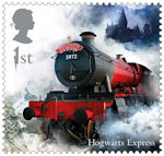 Harry Potter 1st Stamp (2018) Hogwarts Express