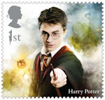 Harry Potter 1st Stamp (2018) Harry Potter