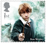 Harry Potter 1st Stamp (2018) Ron Weasley