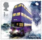 Harry Potter 1st Stamp (2018) Knight Bus
