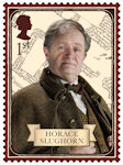 Harry Potter 1st Stamp (2018) Horace Slughorn