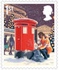 Christmas 2018 1st Stamp (2018) Postbox