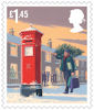 Christmas 2018 £1.45 Stamp (2018) Postbox
