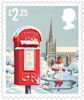 Christmas 2018 £2.25 Stamp (2018) Postbox