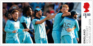 ICC Mens Cricket World Cup 2019 £1.60 Stamp (2019) ICC Cricket World Cup 2019