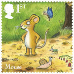 The Gruffalo 1st Stamp (2019) Mouse