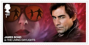 James Bond 1st Stamp (2020) The Living Daylights (1987)