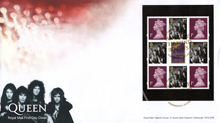 First Day Cover from Collect GB Stamps