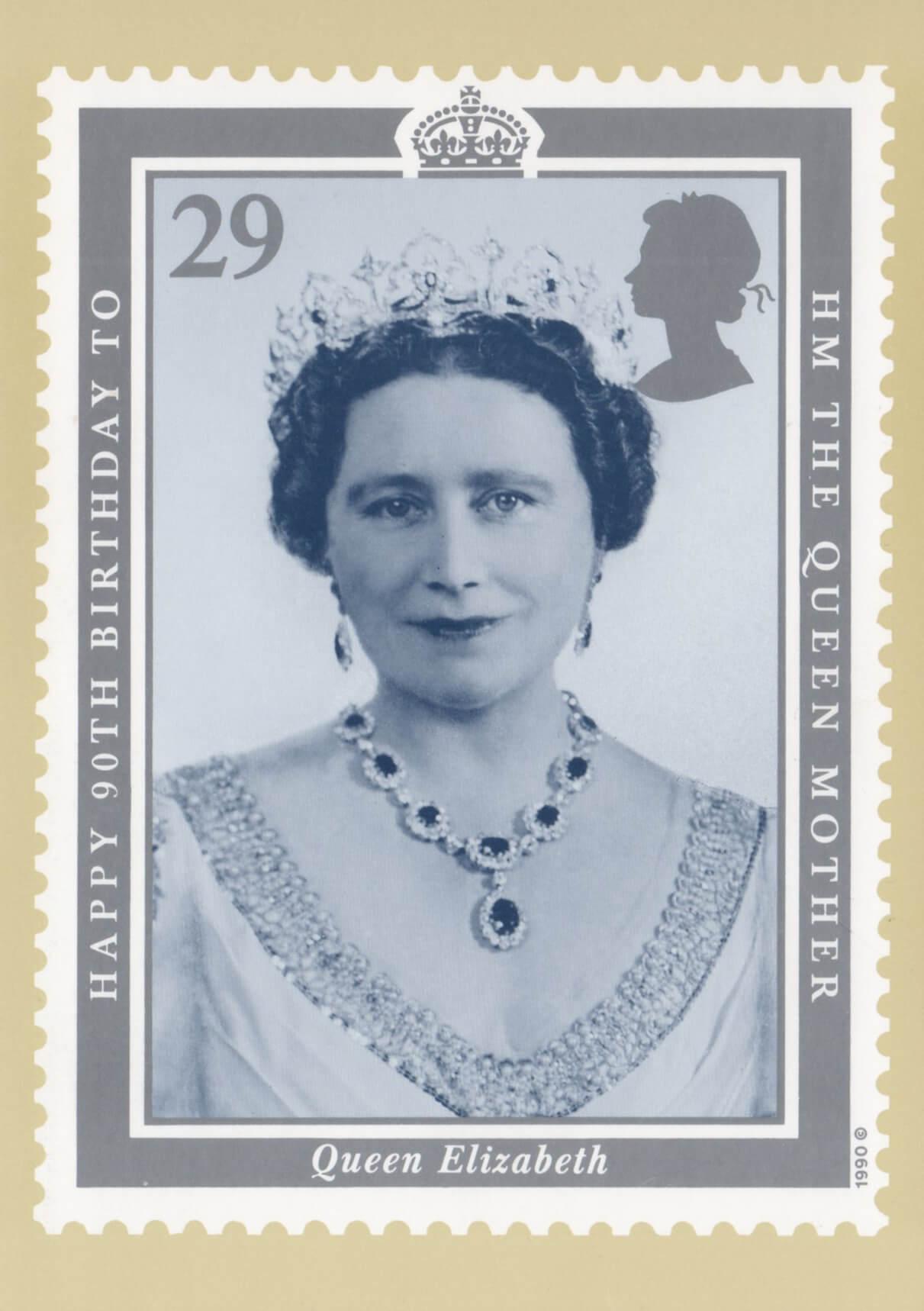 90th birthday of queen elizabeth the queen mother  1990