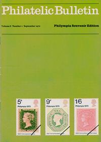 British Philatelic Bulletin Volume 8 Issue 1