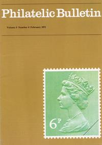 British Philatelic Bulletin Volume 8 Issue 6