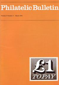 British Philatelic Bulletin Volume 8 Issue 7