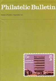 British Philatelic Bulletin Volume 9 Issue 1