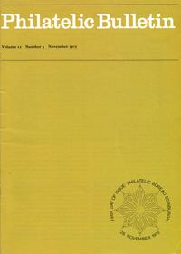 British Philatelic Bulletin Volume 13 Issue 3
