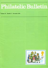 British Philatelic Bulletin Volume 16 Issue 3