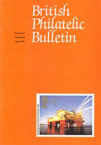 British Philatelic Bulletin Volume 20 Issue 8