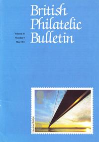 British Philatelic Bulletin Volume 20 Issue 9