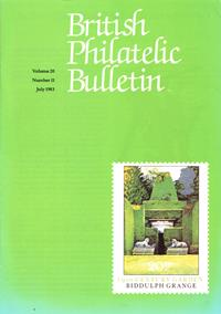 British Philatelic Bulletin Volume 20 Issue 11
