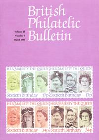 British Philatelic Bulletin Volume 23 Issue 7