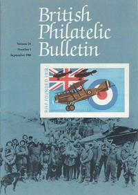 British Philatelic Bulletin Volume 24 Issue 1
