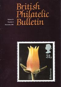British Philatelic Bulletin Volume 24 Issue 4