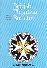British Philatelic Bulletin Volume 24 Issue 9