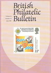 British Philatelic Bulletin Volume 24 Issue 10