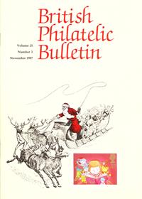 British Philatelic Bulletin Volume 25 Issue 3
