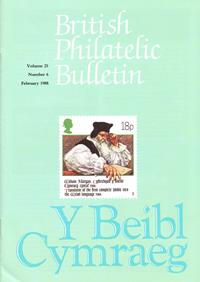 British Philatelic Bulletin Volume 25 Issue 6