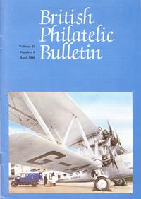 British Philatelic Bulletin Volume 25 Issue 8